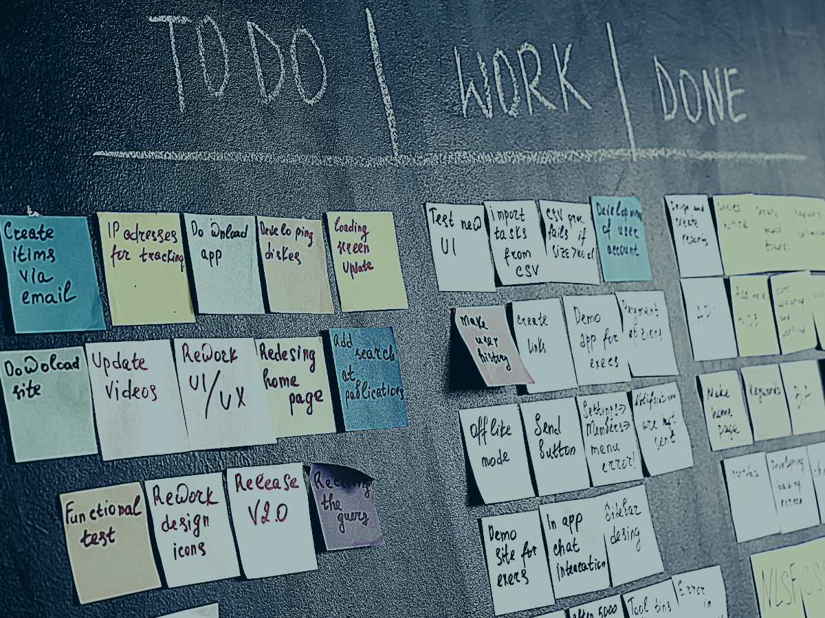 Planning, Improving and Evolving With Agile Development photo